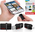 SanDisk 16GB Ultra Dual OTG USB 3.0 Flash Drive Memory Stick For Mobiles Tablets