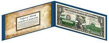 ALASKA State $1 Bill *Genuine Legal Tender* U.S. One-Dollar Currency *Green*
