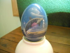 Dolphin egg, decorative home decor, collectible, paperweight, ocean, vintage
