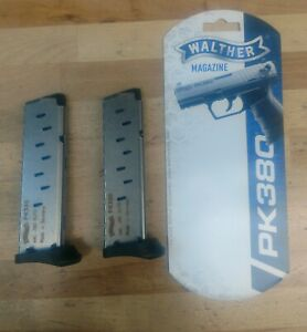 Walther PK380 Magazine 2 pack Free Same Day Shipping