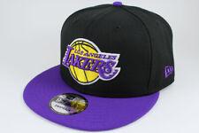 NEW ERA 9FIFTY SNAPBACK HAT CAP LOS ANGELES LA LAKERS 2-TONE BLACK/PURPLE ADULT