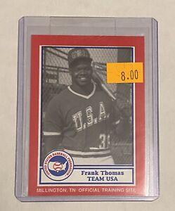 1987 Pan Am Frank Thomas ROOKIE CARD-HoF-White Sox Rc