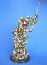 "10"" Bronze Color Monkey King Statue - Sun WuKong"