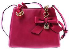 Women's Hand Shoulder Bag MICHAEL KORS 30H7GCYS5L Ultra Pink Cynthia Satchel New