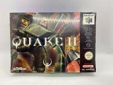 Quake II Nintendo 64 N64 New And Sealed, Free Postage European Pal