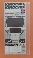 RC Tamiya Decal Nissan King Cab 58081 NEU NIB 1989