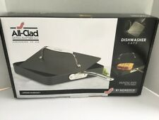 """All-clad B1 Hard anodized Nonstick 10"""" Panini Pan With Press dishwasher safe"""