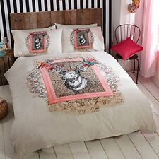 Luxury Eclectique Branded Duvet / Quilt Cover Bedding Sets - 3 X Sizes Available Antique Stag Single