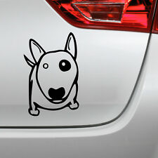 Auto Aufkleber Bullterrier Hund dog sticker