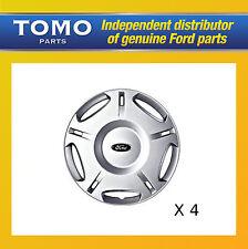 """Genuine Set of 4 16"""" Ford Mondeo LX Wheel Trims Hub Caps MK3 2000-2007 1151368"""