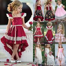 Kinder Mädchen Party Festkleid Prinzessin Kleider Hochzeit Festkleid Abendkleid