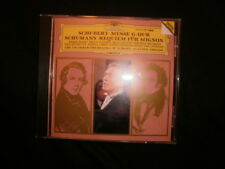 SCHUBERT: MESSE G-DUR; SCHUMANN: REQUIEM FUR MIGNON - Abbado; + bonus CD! SALE!
