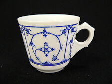 Jäger Eisenberg blue Saks Kaffeetasse Indischblau / Strohblume (I)