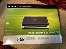 Ethernet Broadband Router D-Link Ebr-2310 New old stock