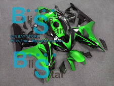 Green Glossy INJECTION Fairing Fit Honda CBR1000RR 2006-2007 07 U2