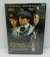 Murders in the Rue Morgue (DVD, 2006, Canadian) Val Kilmer Full Screen TORN WRAP