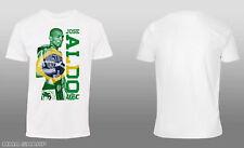 UFC Men's Jose Aldo UFC 189 Flag Tee Shirt White 3X-Large
