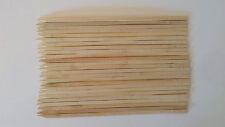 25 BAMBOO SKEWERS. EXTRA LARGE WOOD STICKS. BBQ SHISH KABOB 16* 0.4 INCH BROWN