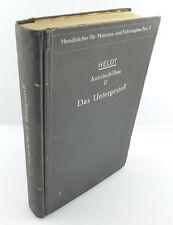 Buch: Automobilbau von P.M. Heldt Band II Das Untergestell 1922 e1023