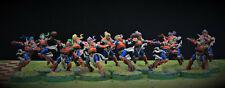 Blood Bowl Elves Team équipe elfe pro painted