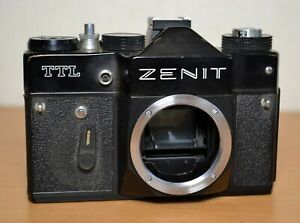 Zenit TTL BODY ONLY - missing battery cover