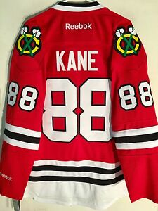Reebok Premier NHL Jersey Chicago Blackhawks Patrick Kane Red sz L