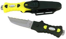 "Compact Knife - 3"" serrated edge, black handle"