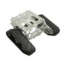 Metal Robot Chassis Track Arduino Tank Chassis Wali w/ Motor Stainless Stee