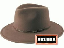 Akubra Traveller Crushable Foldable Felt Hat - Regency Fawn