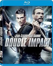 DOUBLE IMPACT (1993 Jean Claude Van Damme)  Blu Ray - Sealed Region free for UK