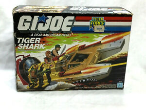 1988 Vintage Hasbro GI Joe ARAH Tiger Force Tiger Shark Boat Complete Boxed RARE