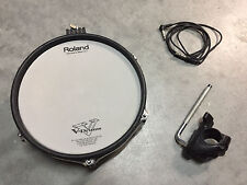 "Roland PD-105 BK 10"" Mesh Head V Drum PD105 VDrum 100 + CLAMP AND CABLE"