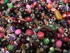 Mixed Assorted Acrylic Beads Jewellery Making Craft Beads Job Lot 50g
