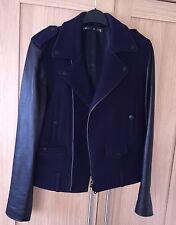 PAUL & JOE Ladies Jacket, Real Leather Sleeved, 💯% Genuine