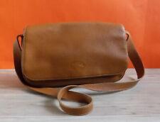 LONGCHAMP Vintage Genuine Leather Shoulder Bag Small France