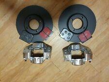 FORD CORTINA MK4 MK5 PAIR FRONT type ate CALIPERS, DISCS, PADS & PAD PINS