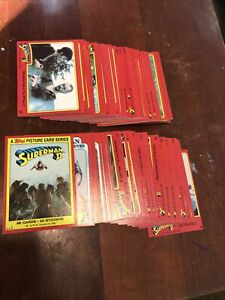1980 Topps Superman II Complete 1-88 Card Set Clark Kent(no Stickers)MINT
