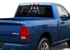 Darth Vader Dark side of Force Rear Window Decal Sticker Pick-up Truck SUV Car