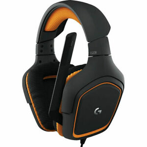Logitech G231 Prodigy Black Headband Headsets - Used