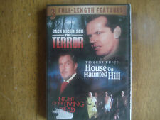 The Terror / House on Haunted Hill / Night of Living Dead movie pack