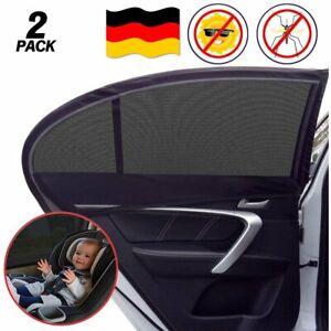 Universelle 2x Sonnenschutz Auto UV Reflekor Schutz fr Seitenfenster Autofenster