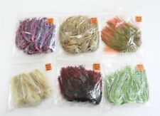 60 Pcs NEW Silicone Spinnerbait Buzzbait Skirts Spider-Cut Fishing lures jigs