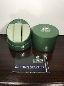 CITIZEN Eco-Drive Green Empty Watch Display Box Only