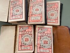5 1890s Pocket Diaries Conant Family Cumberland Portland ME farming