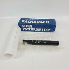 New Listing New Bacharach Mercury Fill Sling Psychrometer 12 7011 Nos Nib Mint