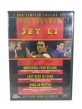 Hong Kong Masters: Jet Li (3 Dvd Le Set, Chinese)