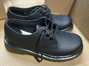 Dr Martens 1461 Kids Black Oxford Shoes Size 11