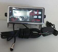 Scale Indicator LCD Optima OP-902 Readout AC Adapter 110-240v,Units lb/kg/oz,New