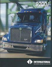 Truck Brochure - International - 9200i  (T1861)