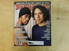 RAGE AGAINST THE MACHINE ROLLING STONE NO.768 MAGAZINE SEPT 4 1997 Wu-Tang
